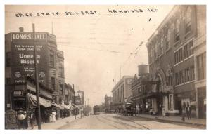 Indiana  Hammond,East State St,  Bijou Vauidville Theatre,  RPC