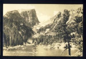 Estes Park, Colorado/CO Photo Postcard, Dream Lake