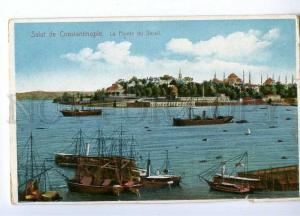191422 TURKEY CONSTANTINOPLE Pointe du Serail Vintage postcard