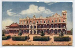 Christian Brothers College Kimberley Northern Cape South Africa Tuck postcard