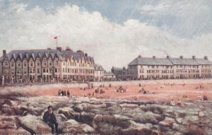 Porthcawl , Wales , UK , 00-10s ; The Esplanade & Marine Hotels ; TUCK 6204