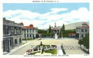 San Salvador El Salvador, Central America Escuela de Medicina y Hospital Rosa...