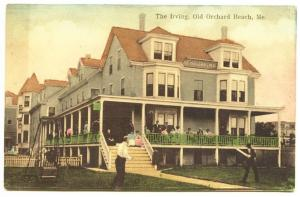 Old Orchard Beach ME The Irving 1911 Postcard