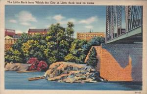 Arkansas Little Rock The Little Rock From Which The City Was Named 1938