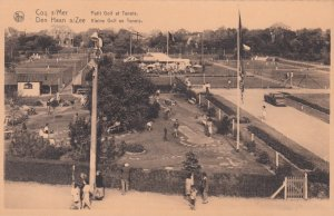 Coq s/Mer , Belgium , 1910-30s ; Petit Golf et Tennis