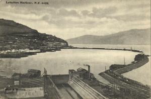 new zealand, LYTTELTON, Harbour Scene (1910s) Muir & Moodie Postcard