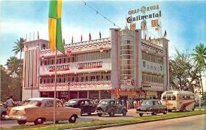 Kuala Lumpur United Malaya National Org. Building Old Cars Bus Postcard