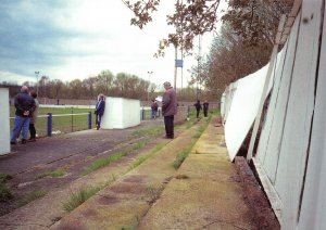 Non-League Football Ground Postcard, Hertford Town FC, Hertingfordbury Park
