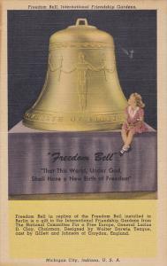 Freedom Bell, International Friendship Gardens, Freedom Bell, Michigan City...
