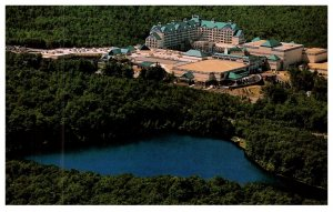 Connecticut Foxwoods Resort Casino,  Aerial view of casino and hotel