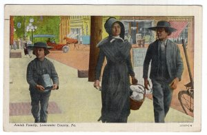 Lancaster County, Pa., Amish Family
