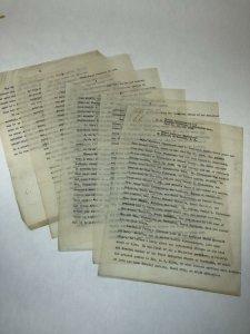 Edward Anderson Timberlake 1882-1939 Eulogy NC Funeral Directors Embalmers Assn