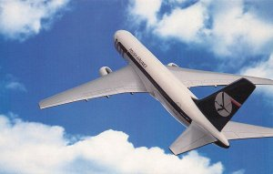Lot Polish Airlines, Wide Body Boeing 767-200, Postcard, Unused