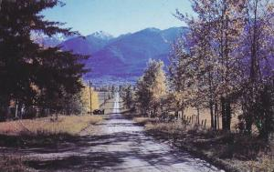 Scenic View, Road Leading to Mountain, Mountain Paradise, Country Sene, McB...
