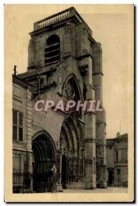 Old Postcard St Dizier (Haute Marne) Notre Dame Church