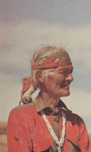 Portrait of A Navajo,  Sedona,  Arizona,  40-60s