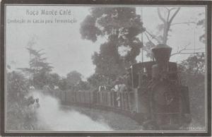 São Tomé and Príncipe, Monte Café Plantation, TRAIN 10s