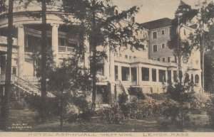 LENOX, Massachusetts, 1900-10s; Hotel Aspinwall, West Wing