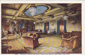 Utah Salt Lake City Governor's Reception Room State Capitol Building
