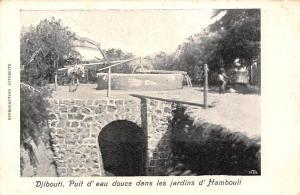 Djibouti Puit d'eau douce dans les jardins d'Hambouli, Freshwater Well