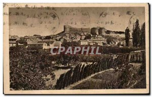 Old Postcard Villeneuve Avignon