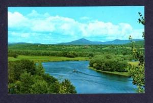 VT View Conn River BRADFORD WELLS RIVER VERMONT PC