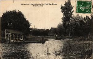 CPA CHATEAU-du-LOIR - Port Martineau (390910)