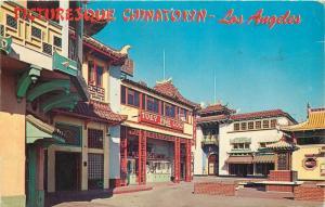 Los Angeles Chinatown restaurant