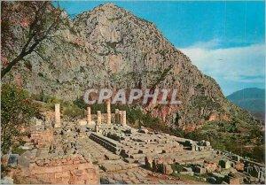 Postcard Modern Delphi The Temple of Apollo