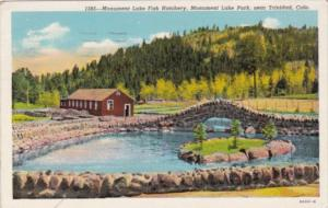 Colorado Trinidad Monument Lake Fish Hatchery Monument Lake Park 1946