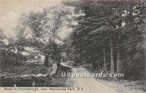 Road to Forrestburgh Merriwold Park NY 1918