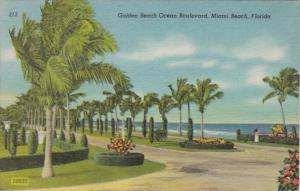Florida Miami Beach Golden Beach Ocean Boulevard