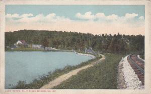 BLUE RIDGE MOUNTAINS, Maryland, 00-10s ; Railroad tracks next to Lake Royer