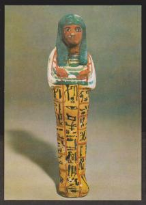 Shabti Figure from 19th Dynasty Egypt - The British Museum