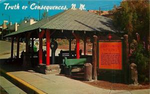 Truth Or Consequences NM~Geronimo's Hot Springs~Penny Weight Scale~1950s
