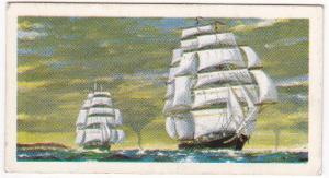 Trade Cards Brooke Bond Tea Transport Through The Ages No 13 Tea Clipper