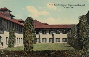 PUEBLO , Colorado , 00-10s ; C.F.&I. Company , Minnequa Hospital