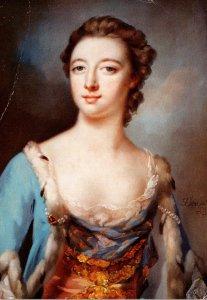 Elizabeth Gunning Duchess Of Hamilton and Argyll 1734-90
