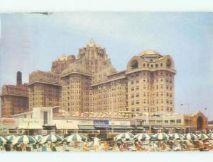 Pre-1980 LOTS OF SHOPS ON BOARDWALK Atlantic City New Jersey NJ HQ2574