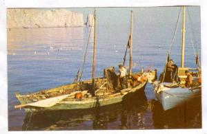 LaGaspesie, Fishing boats at Perce, Quebec, Canada, 40-60s