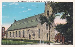 St. Lawrence Catholic Church, NEW BEDFORD, Massachusetts, PU 1939