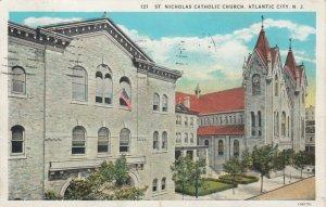ATLANTIC CITY, New Jersey, PU-1930; St. Nicholas Catholic Church