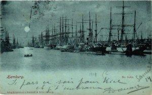 CPA AK Hamburg Der Hafen SHIPS (754925)