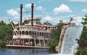 Disneyland Mark Twain Sternwheel Steamboat