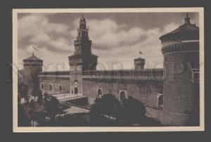 092354 ITALY Milano Castello Storzesco Vintage PC