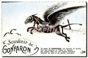 Postcard Modern Gonfaron wing Horse Memorial