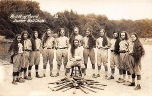 House of David Junior Ball Team, Benton Harbor, Michigan USA, Baseball, Post...