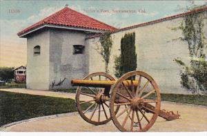 Sutter's Fort , Cannon , SACRAMENTO , California, 00-10s