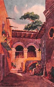 Mexico Old Vintage Antique Post Card Taxco 1945