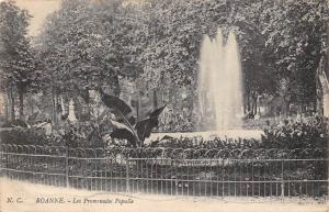 France Roanne Les Promenades Populle Park Fountain
